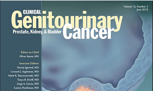 Dr. Schottenstein contributes as an author in Clinical Genitourinary Cancer